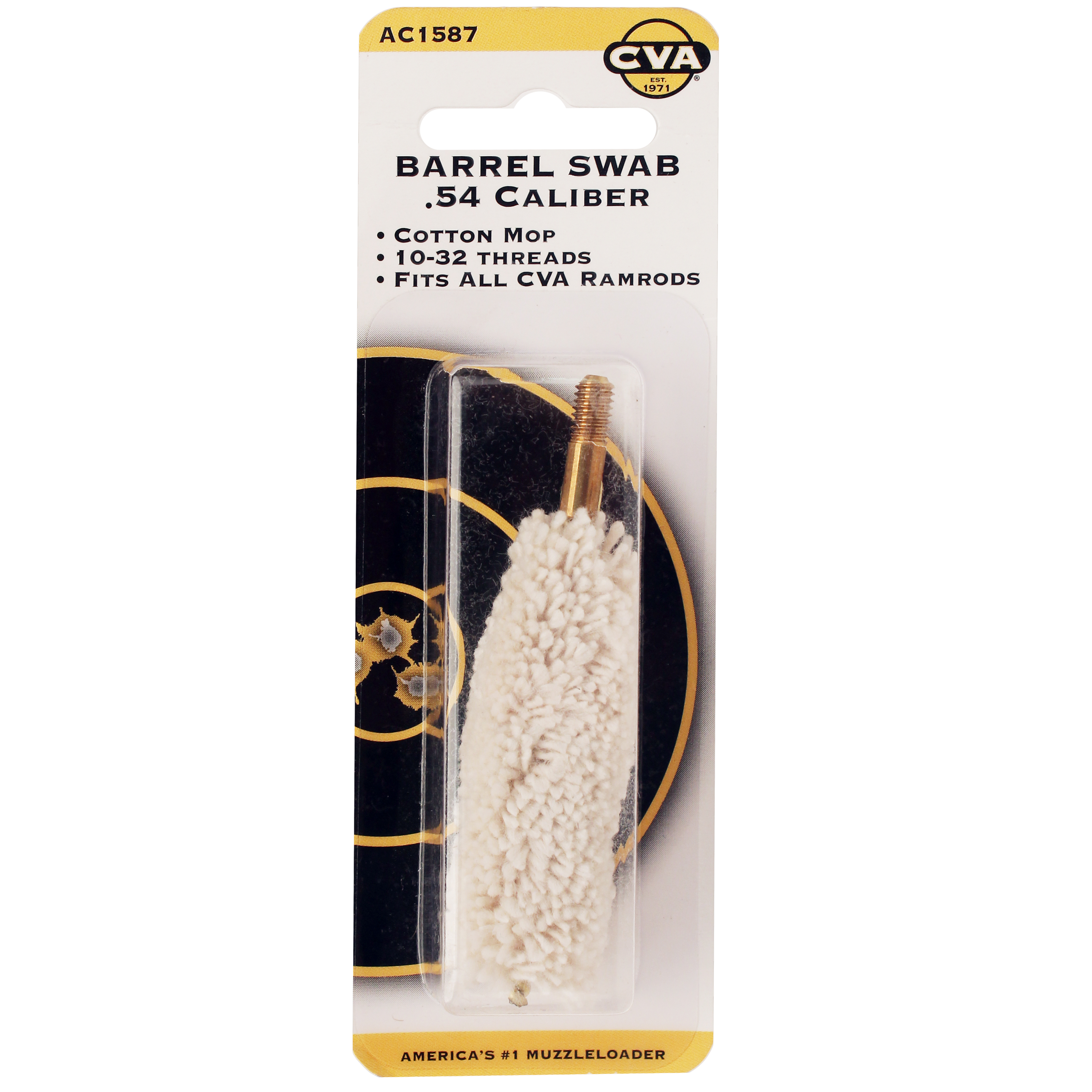 CVA Cotton Swab .54 Caliber