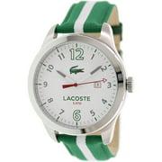 Lacoste Men's Auckland 2010721 Green Nylon Quartz Watch