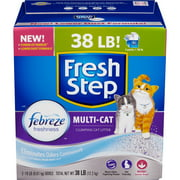 Fresh Step Multi Cat Scented Cat Litter, 38 Pounds