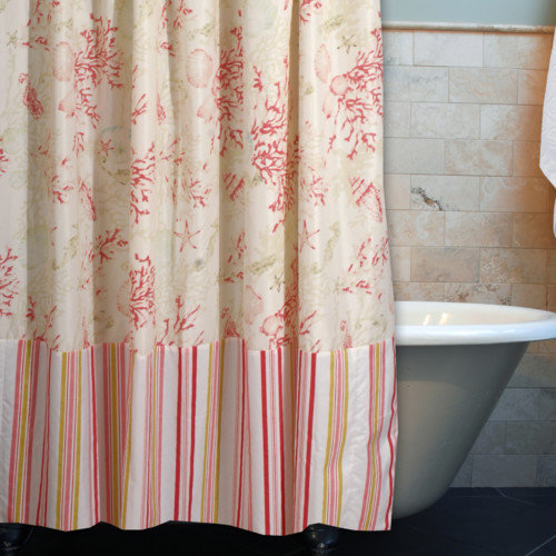 Greenland Home Fashions Coral Shower Curtain