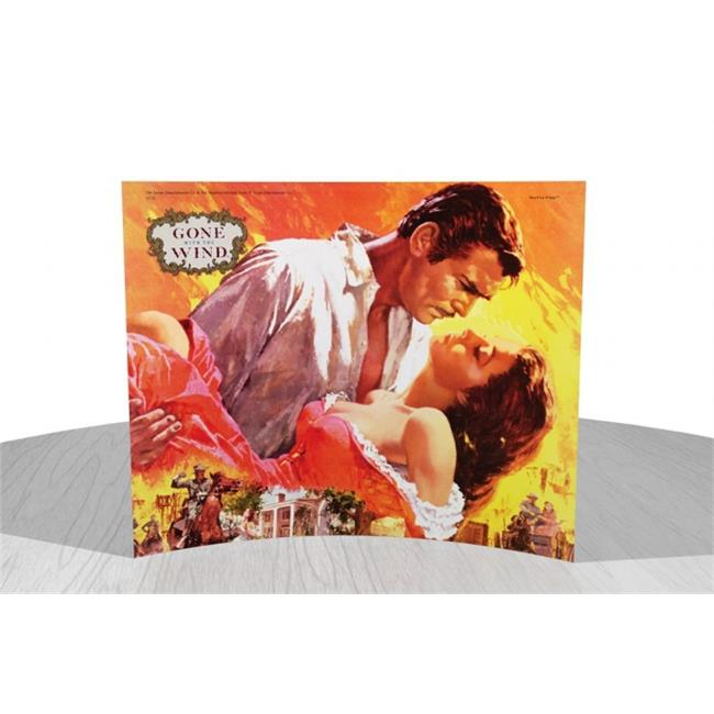 Gone With The Wind (Rhett holding Scarlett) StarFire Prints Curved Glass