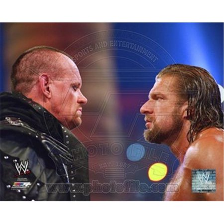 Photofile PFSAAOS05501 The Undertaker & Triple H WrestleMania XXVIII Action Photo Print -8.00 x