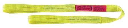 2 x 20 18 Length 8 Width 2 x 20/' 18 Length 8 Width LIF   TS2802TX20 Liftall TS2802TX20 Tuffedge Polyester Web Tow-All 2-ply Vehicle Strap