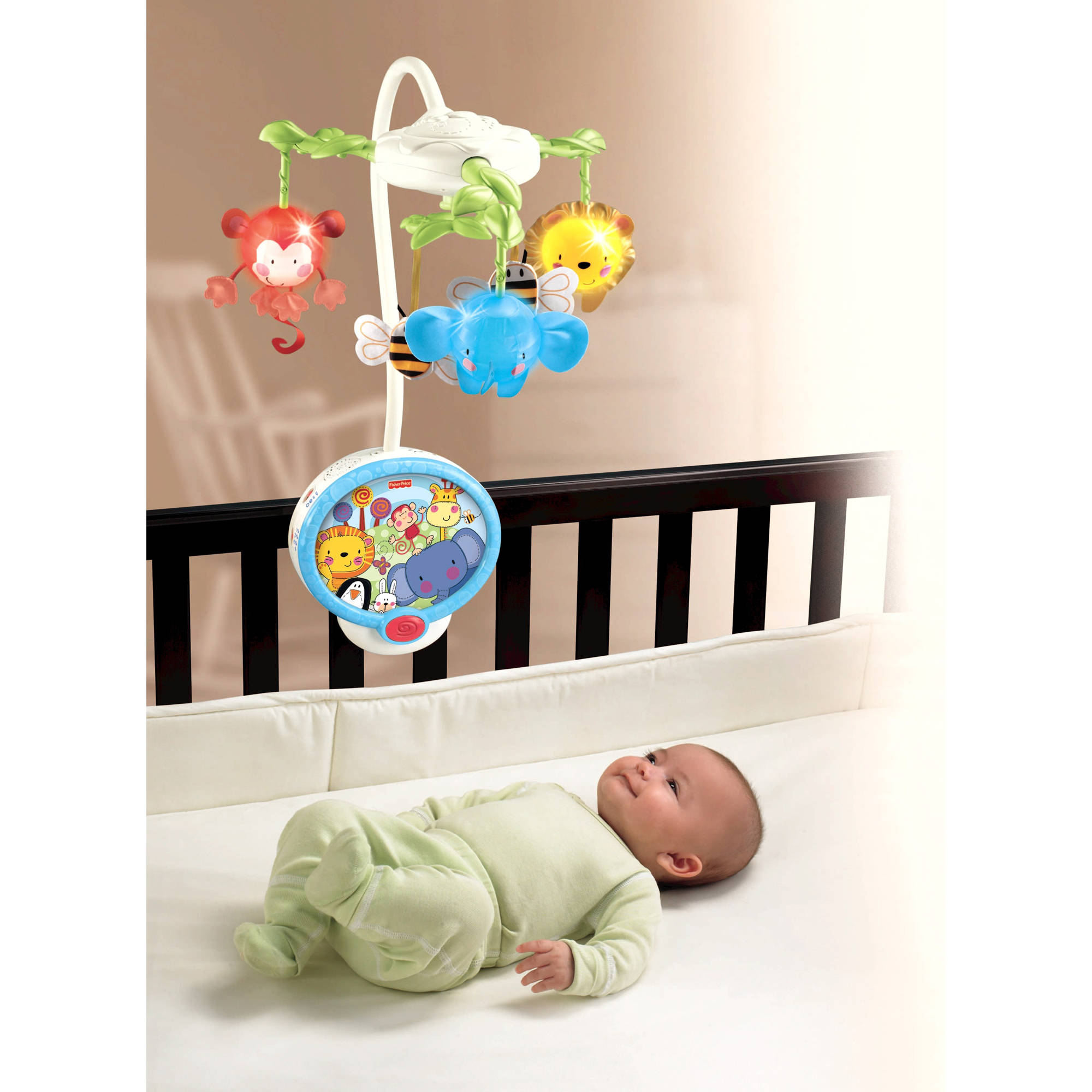 Fisher Price Discover 'N Grow Twinkling Lights Projection Mobile by Fisher-Price