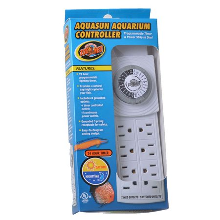 Zoo Med AquaSun Aquarium Controller Timer & Power Strip