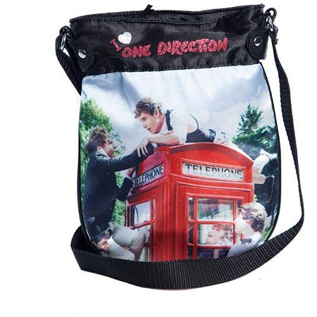 One Direction Black Crossbody Handbag