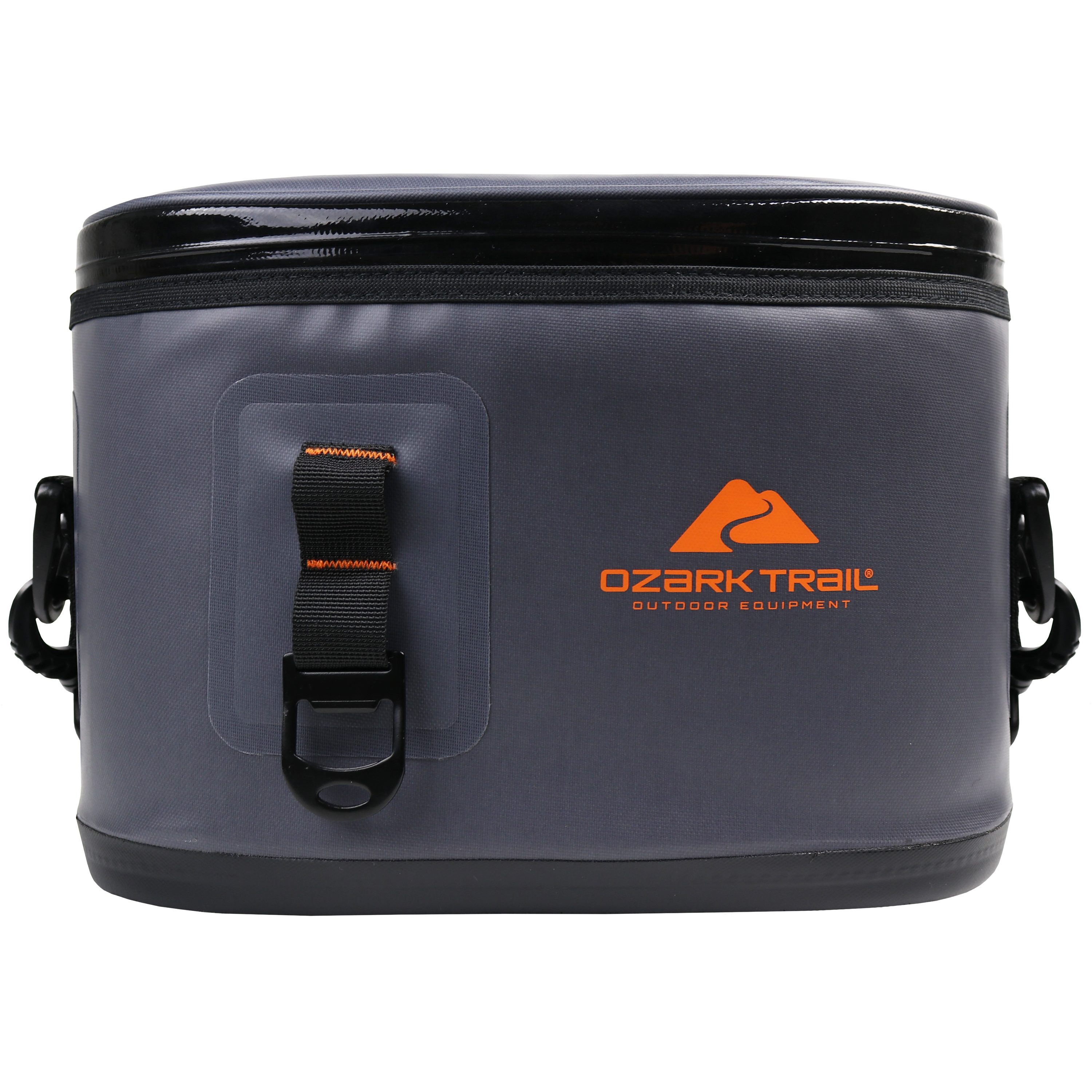 Ozark Trail Premium 6 Can Cooler with Bottle Opener, Gray