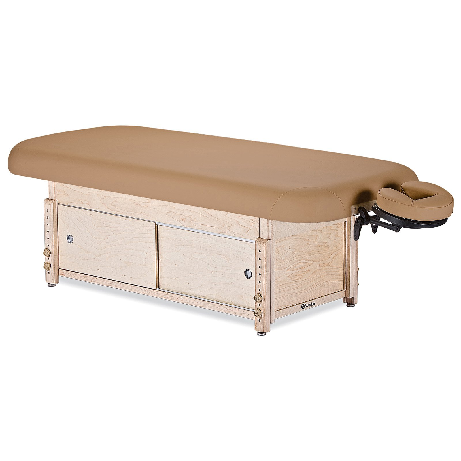 EarthLite Sedona Stationary Massage Table with Cabinet
