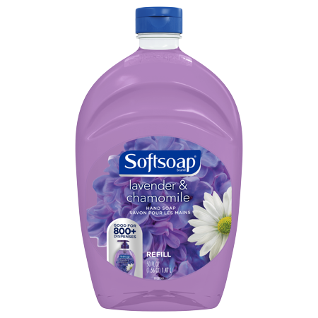 (2 pack) Softsoap Liquid Hand Soap Refill, Lavender and Chamomile, 50