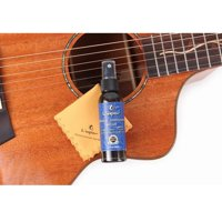 Lubrication and maintenance of string oil cleaner guitar strings