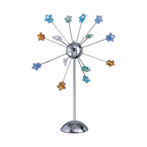 Lite Source Starstruck 33'' H Table Lamp with Novelty Shade