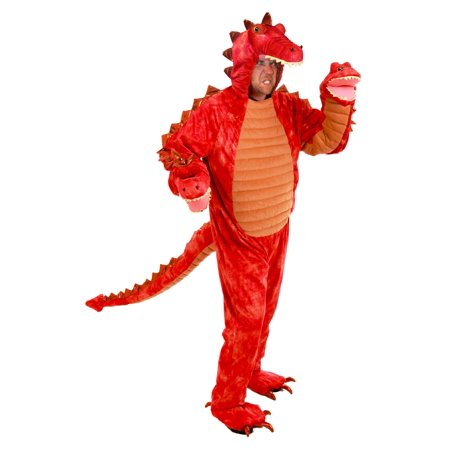 Adult Hydra Red Dragon - Dragons Costume