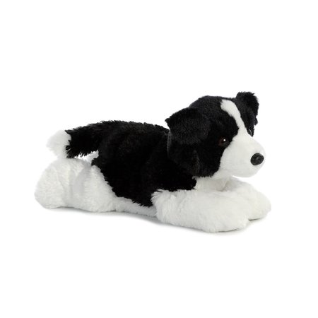 Border Collie Flopsie 12 inch - Stuffed Animal by Aurora Plush (31566)