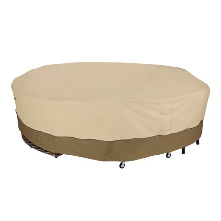 Classic Accessories Veranda Round General Purpose Patio Furniture Cover - Durable and Water Resistant Outdoor Furniture Cover (56-087-011501-00) - image 2 of 2