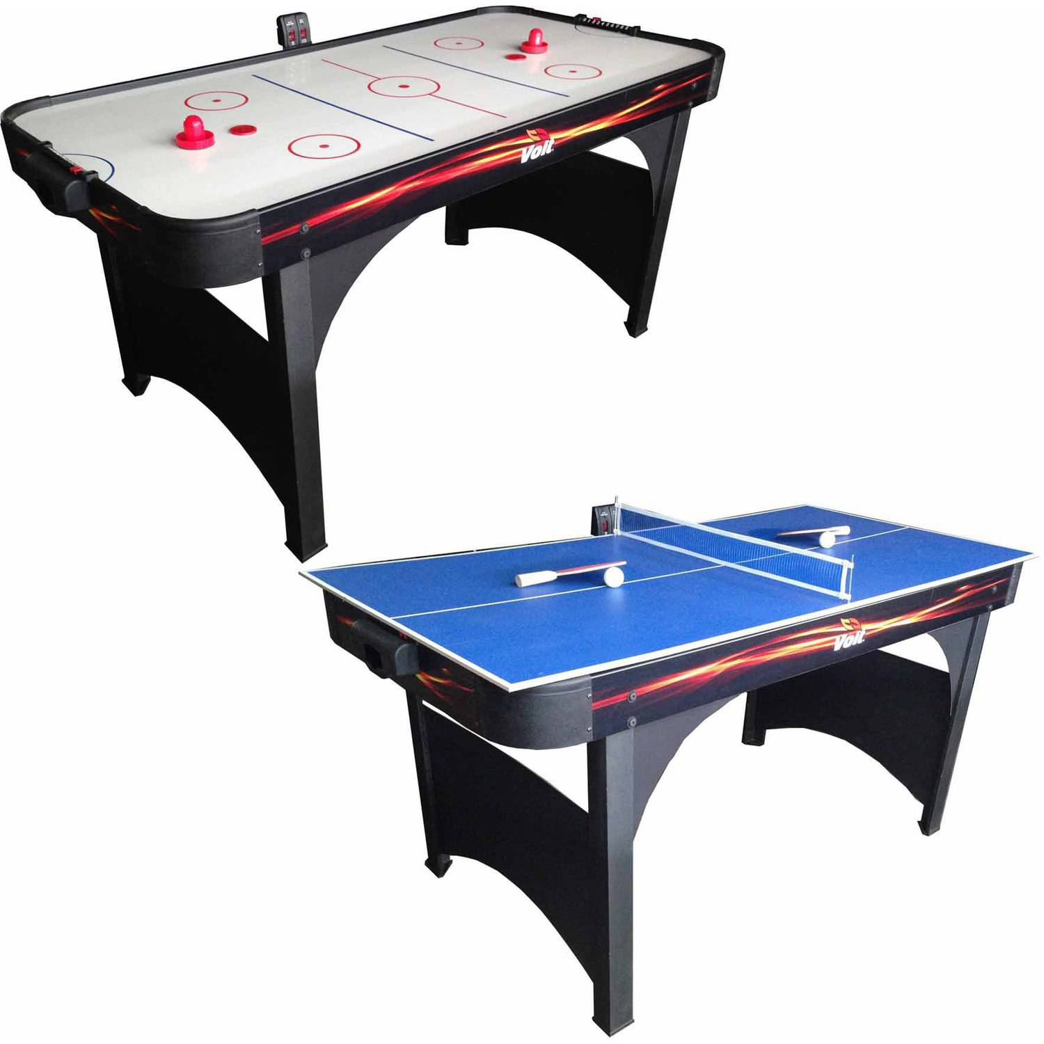 "Voit Playmaker 60"" Air Hockey Table with Ping Pong by Generic"