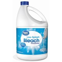 Great Value Low Splash Bleach, Original, 121 fl oz