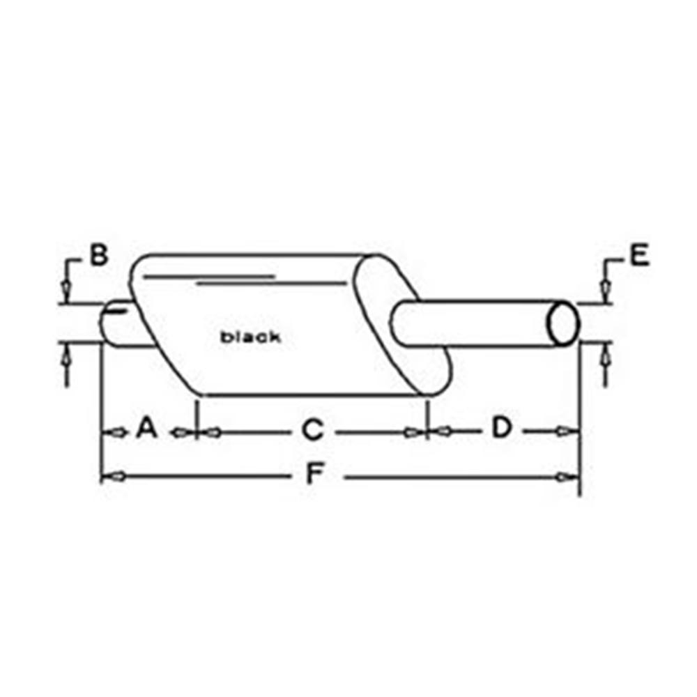 A & I Products Muffler (W/ GAS OR DIESEL ENGINE