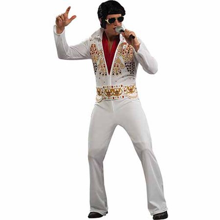Elvis Adult Halloween Costume - Birthday Cake Costume For Adults