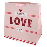 'Happy Love Day' Large Gift Bag (Pack Of 24)