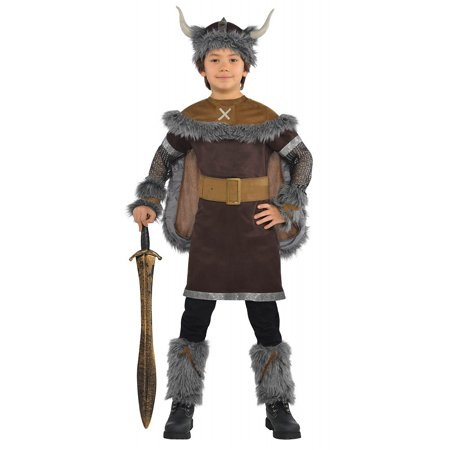 Viking Warrior Child Costume - Small - Costumes Vikings