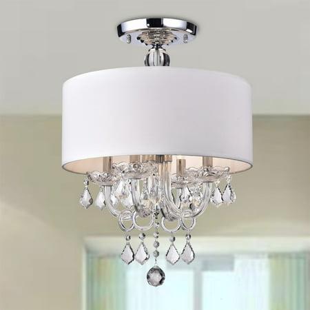 Hong Kong best New Zhu Yuan lighting Co. Antal 4-Light White Semi-Flush