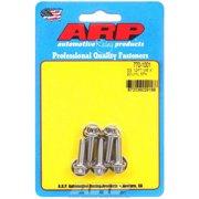 ARP Universal Bolt 6 mm x 1.00 Thread 20 mm Long Stainless 5 pc P/N 770-1001