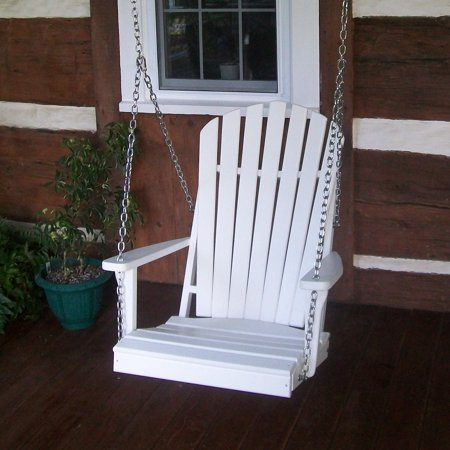 Adirondack Swing (A & L Furniture Adirondack Poly Recycled Plastic 2 ft. Swing Chair )