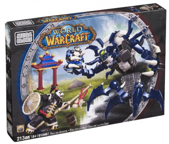 Mega Bloks World of Warcraft Sha of Anger by Mattel