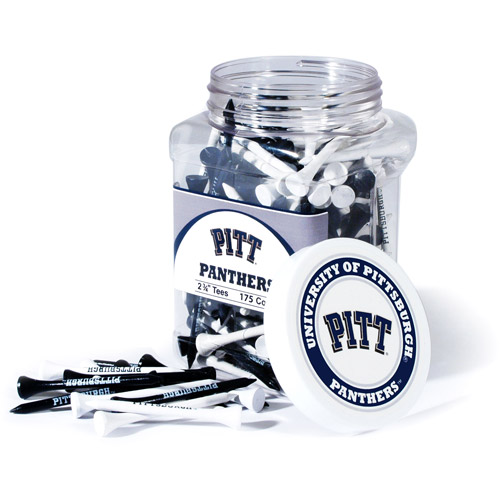 Team Golf NCAA Pittsburgh Jar Of 175 Golf Tees