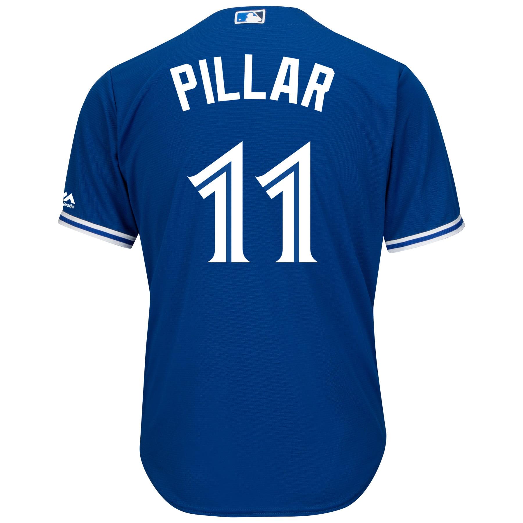 Kevin Pillar Toronto Blue Jays Cool Base Replica Away Jersey