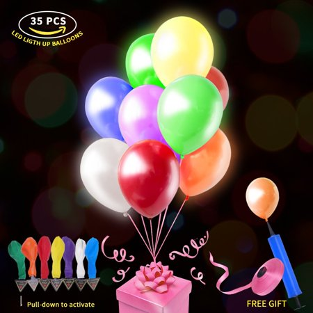 Led Light Up Balloons Luminous Balloon With Lights Inside Last 6 To