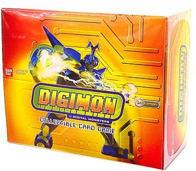Digimon Collectible Card Game Hybrid Warriors Booster Box by