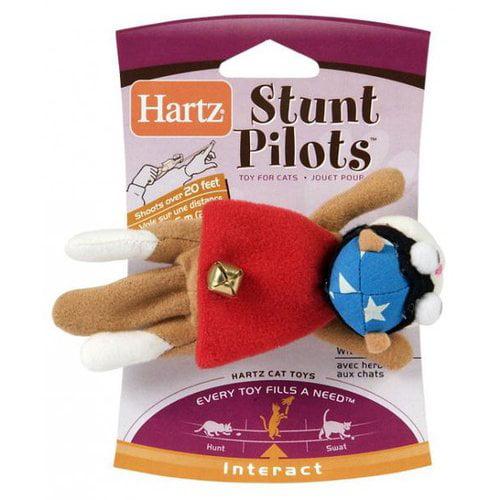 hartz stunt pilots cat toy