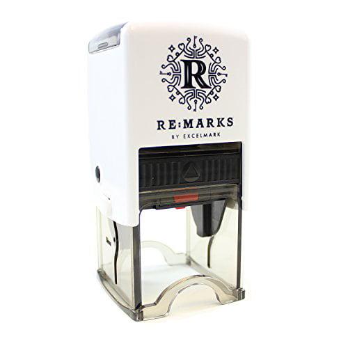 Re:Marks Personalized Designer Address Stamp