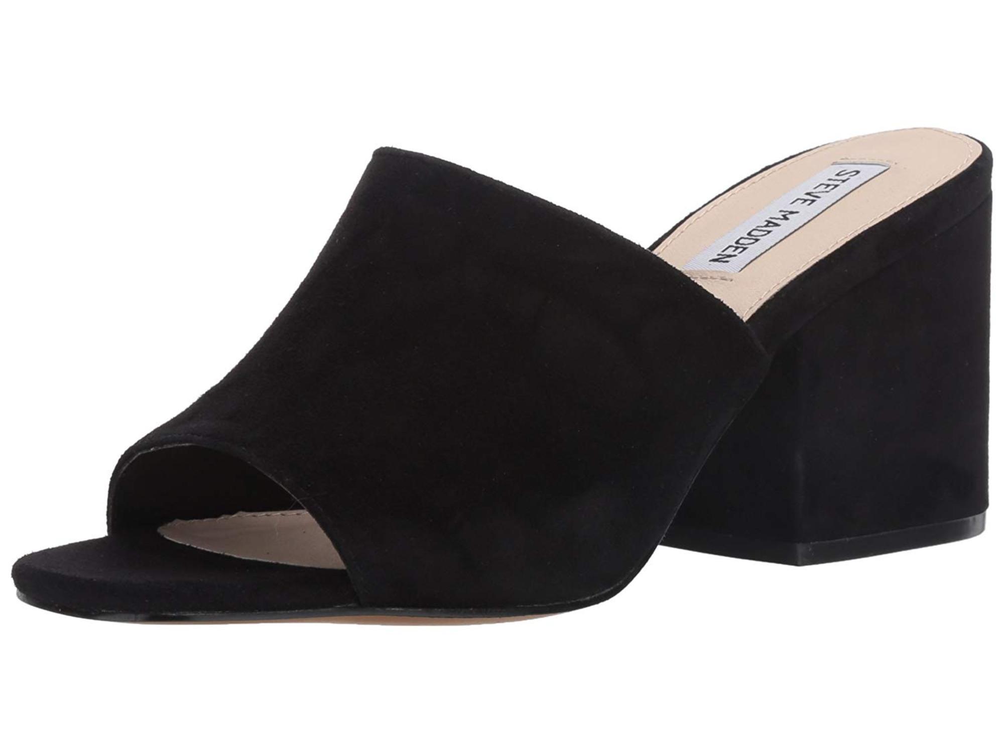 33e2715ea4a6 Steve Madden Dalis Block-Heel Mule Sandals
