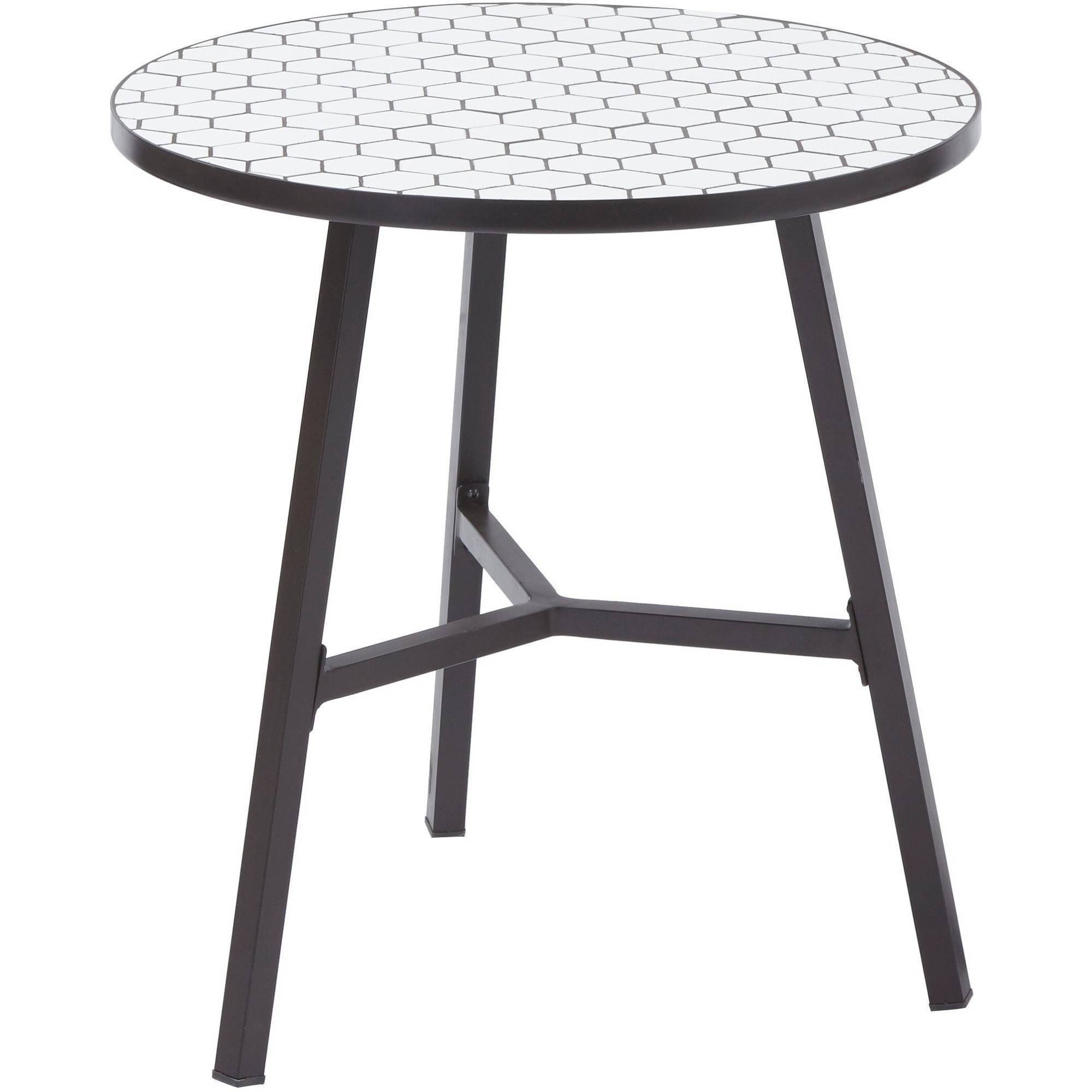 better homes and gardens camrose farmhouse outdoor steel bistro