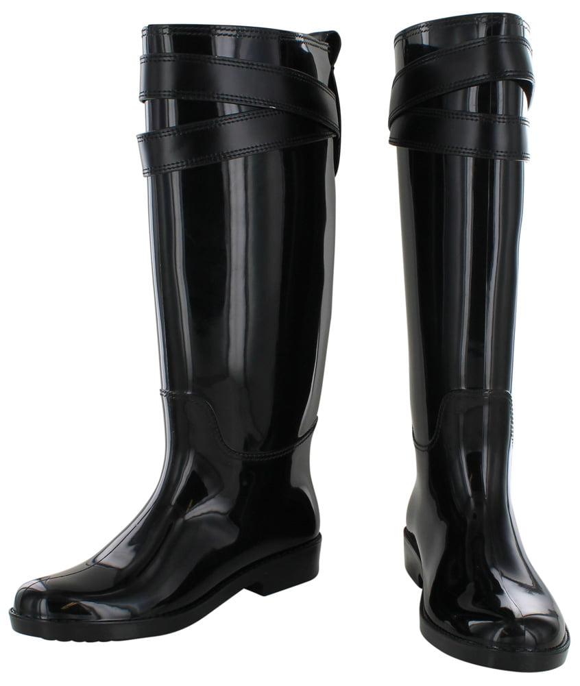 Coach Talia Women's Rubber Rainboots Boots 34A7850 Waterproof ...