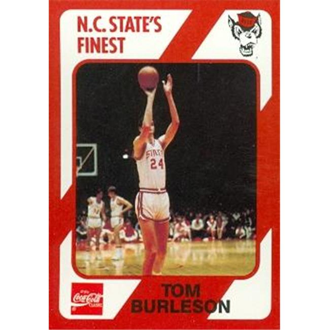 Tom Burleson Basketball Card (N. C.  North Carolina State) 1989 Collegiate Collection No. 32