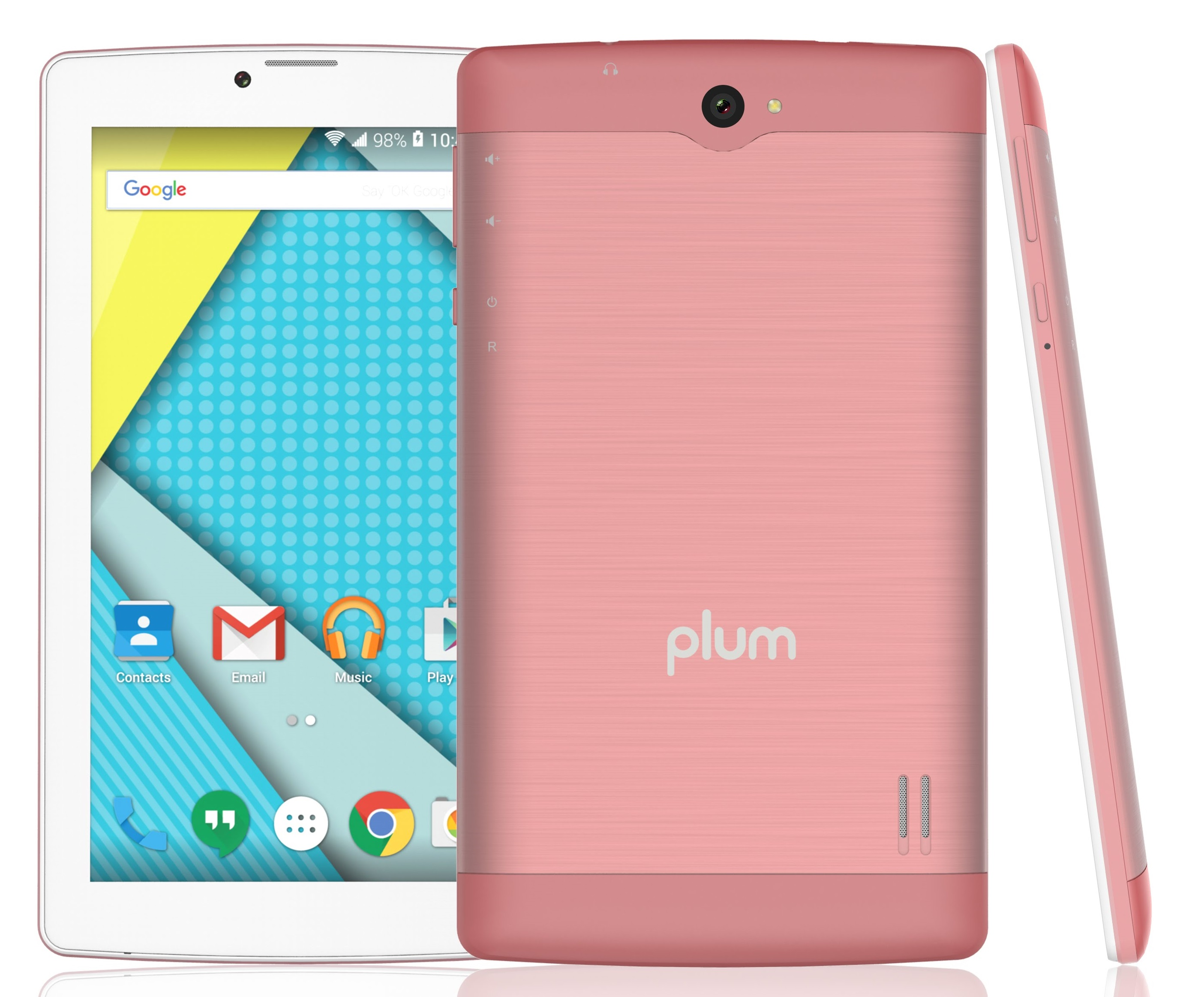 Plum Optimax 12 - Tablet + Phone Phablet 4G GSM Unlocked Android...