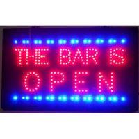 Neonetics Bar is open led sign