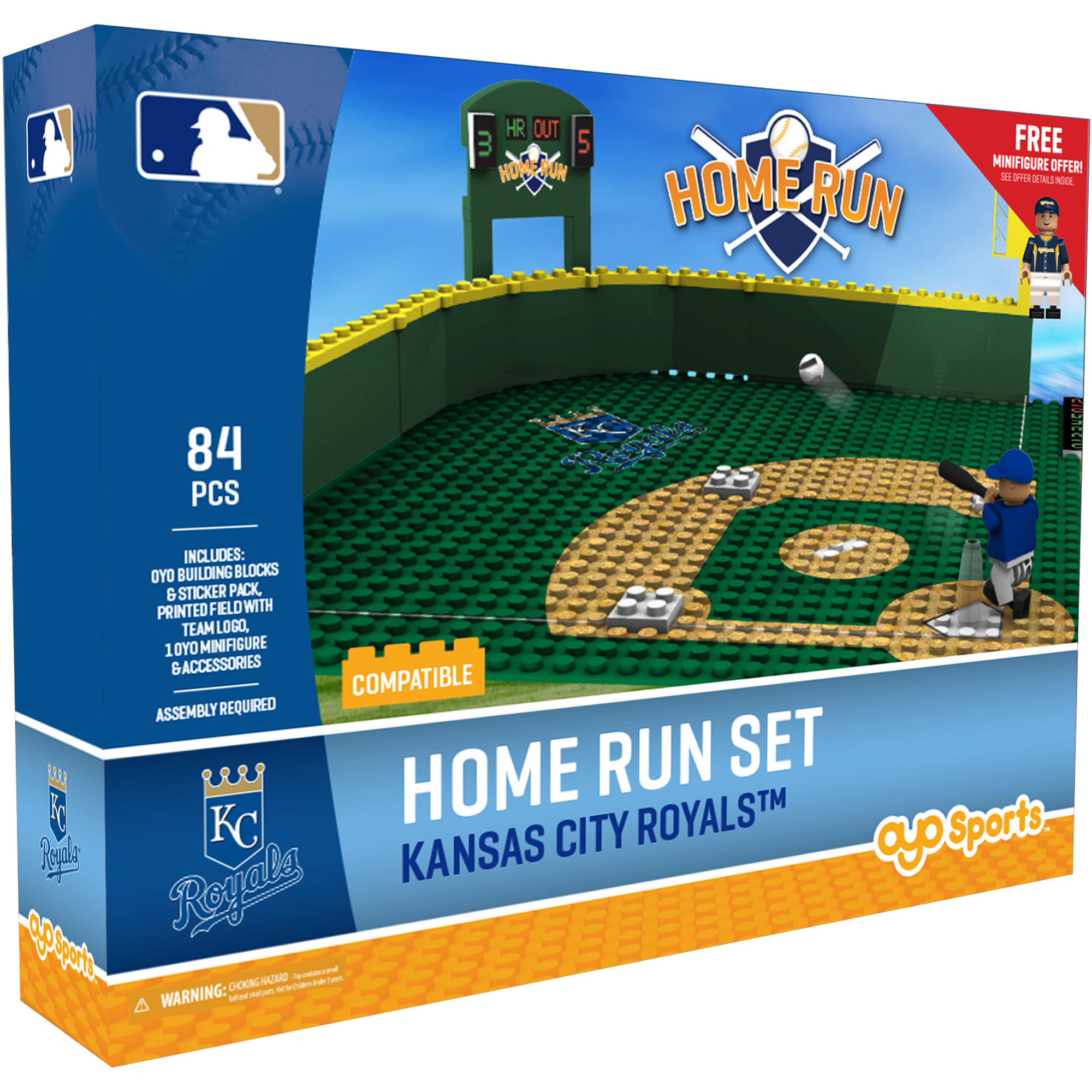Kansas City Royals OYO Sports Home Run Derby Set - No Size