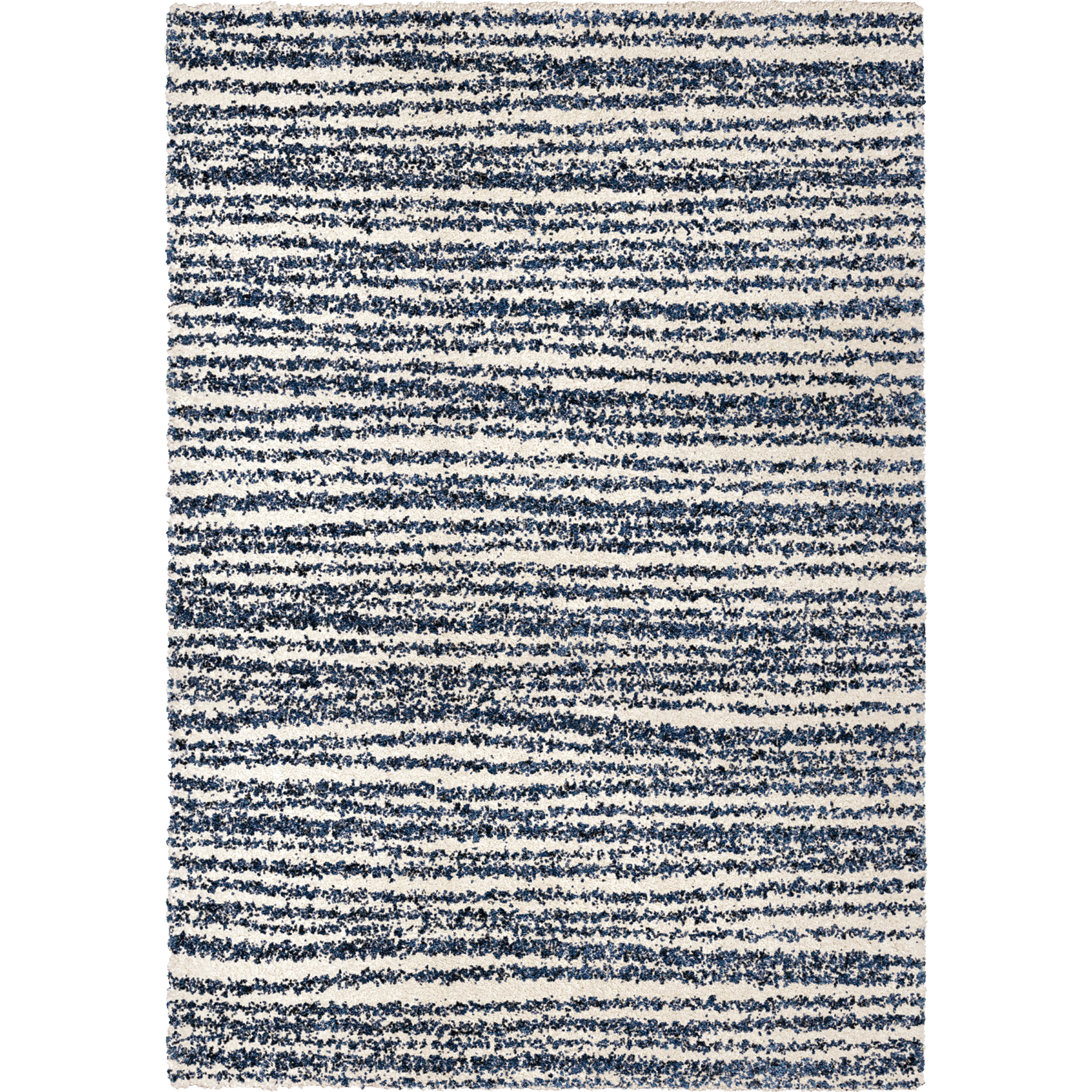 """Orian Cotton Tail Knitted All Over Soft White 5'3""""X7'6"""" Area Rugs JA10"""