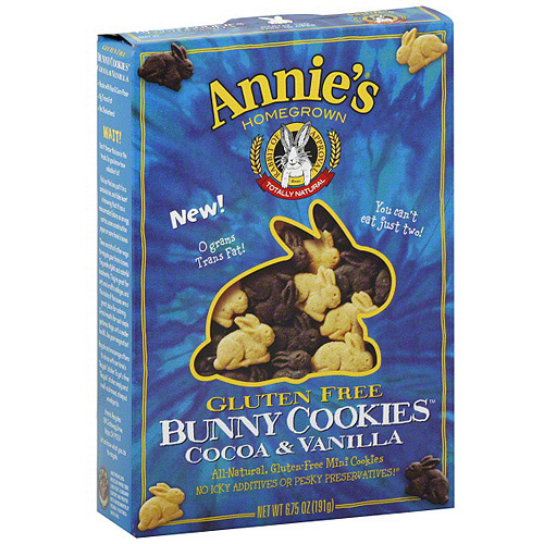 Annie's Homegrown Cocoa And Vanilla Cookies, 6.75 oz (Pack of 12)