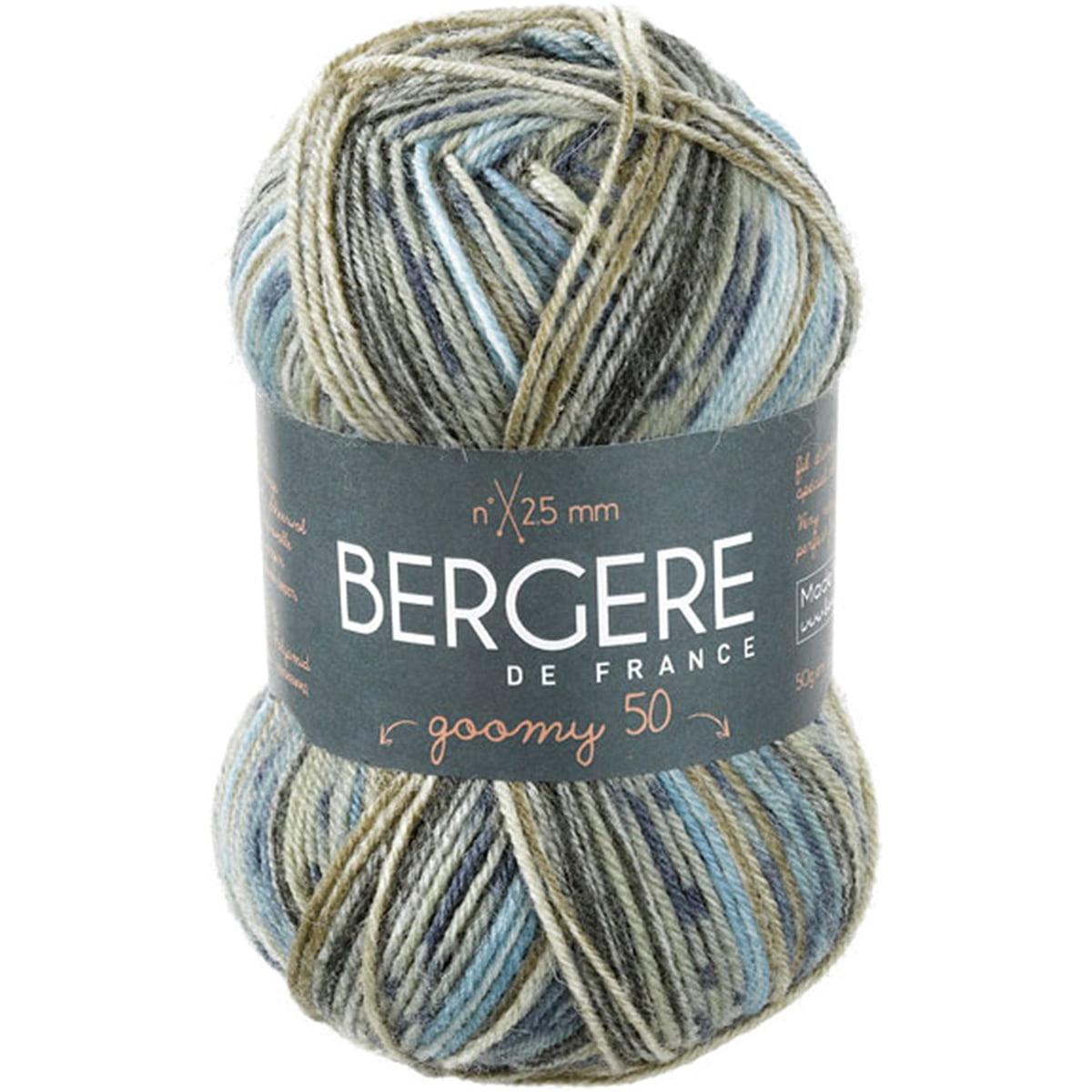 Bergere De France Goomy Yarn-Imprim Kaki