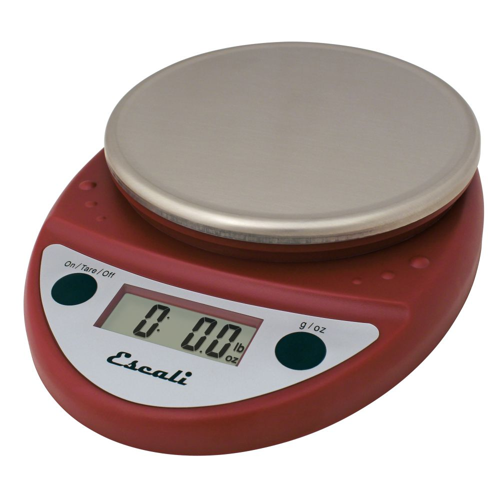Escali P115-WR-NSF Primo NSF 11 Pound Warm Red Digital Scale