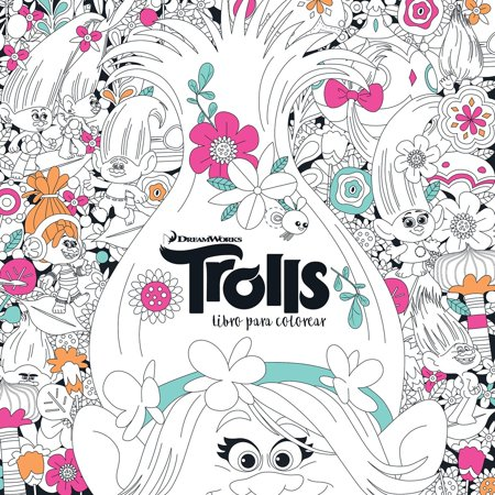 Trolls. Libro para colorear / Trolls. It's Color Time! (DreamWorks)