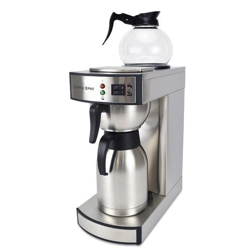 CoffeePro 10-Cup Dual Brew Commercial Thermal Decanter Coffee Maker