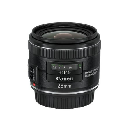 - Canon EF 28mm f/2.8 IS USM Lens