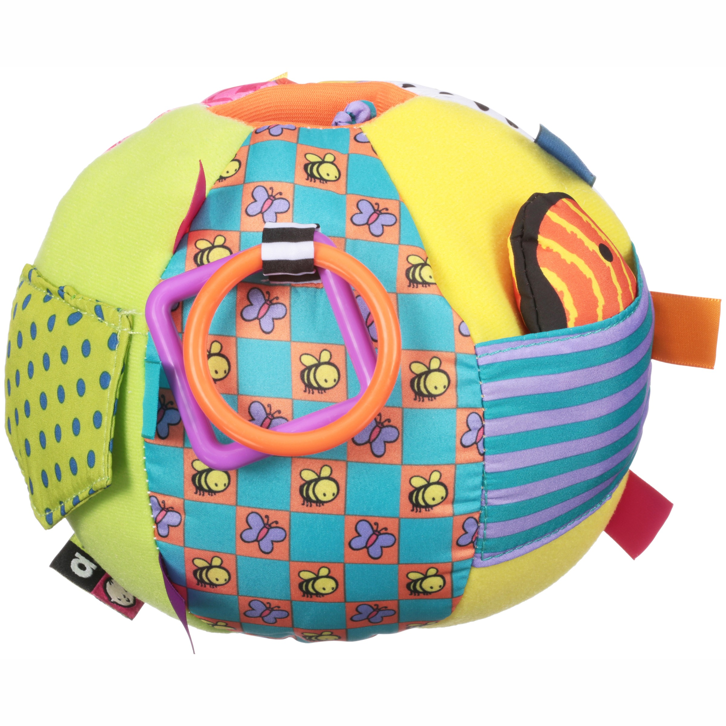 Kids Preferred™ Amazing Baby™ Developmental Activity Ball with Peek-a-boo-Bear