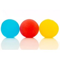 Impressa Products Squishy Stress Relief Balls (3-pack) - Tear - Resistant Stress Relief Ball